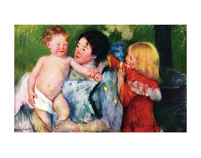After the Bath Posters by Mary Cassatt