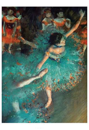 Dancer Print by Edgar Degas
