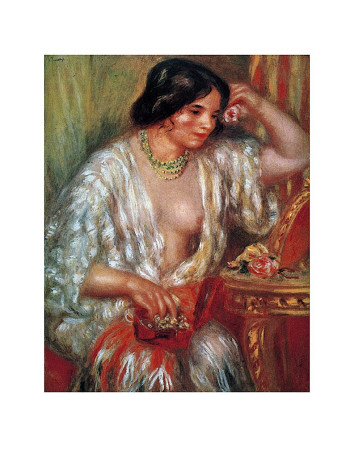 Gabrielle Poster by Pierre-Auguste Renoir