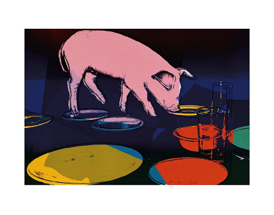 Fiesta Pig, c.1979 Reproduction d'art