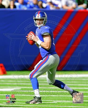 Eli Manning 2010 Action Photo