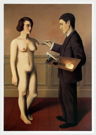 Tentative de L'Impossible Print by Rene Magritte
