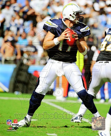 Philip Rivers 2010 Action Photo