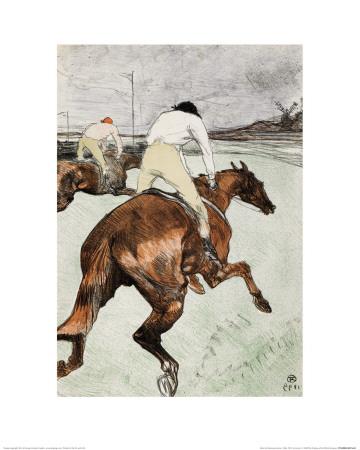 Le Jockey Lámina giclée por Henri de Toulouse-Lautrec