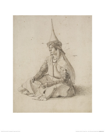 A Turkish Woman Giclee Print by Gentile Bellini