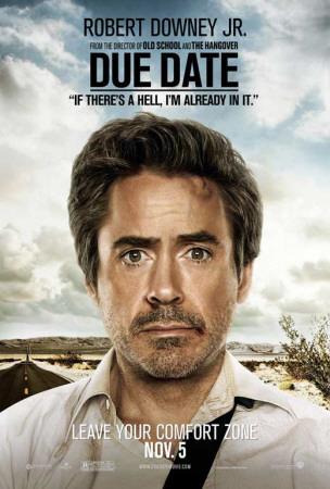 Due Date - Robert Downey JR. Masterprint