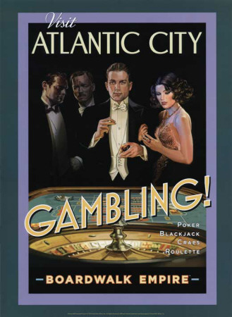 Boardwalk Empire - Gambling Masterprint