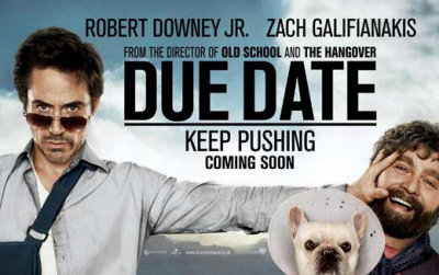 Due Date keep pushing movie poster photo