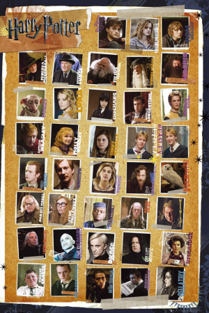 Harry Potter and the Deathly Hallows - Characters Poster