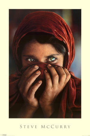 Afghan Girl Prints by Steve Mccurry