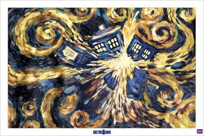 Dr Who - Exploderande tardis Posters