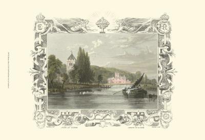 Bisham Abbey Prints by William Tombleson