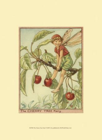 The Cherry Tree Fairy Prints