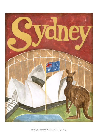Sydney Prints by Megan Meagher