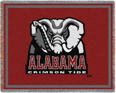 University of Alabama, Logo Throw Blanket