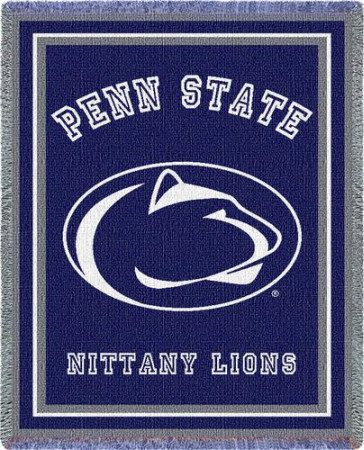 Penn State University, Athletic Logo Throw Blanket