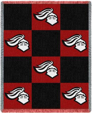Rutgers University, Knight Checkerboard Throw Blanket