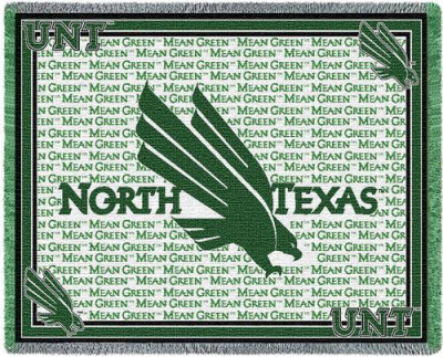 University of North Texas, Mascot Throw Blanket at AllPosters.