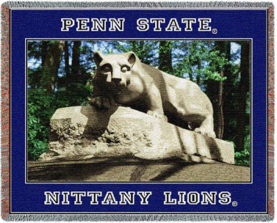 Penn State University, Lion Throw Blanket