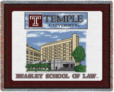 Temple University, School of Law Throw Blanket