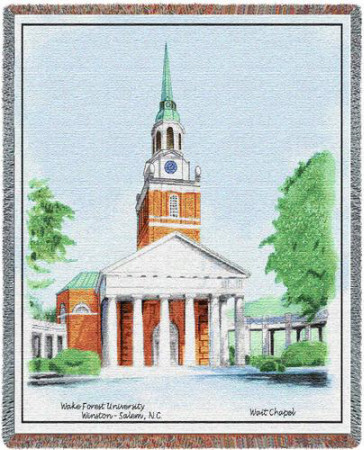 Universidade Wake Forest Throw Blanket