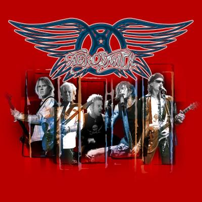 Aerosmith Stretched Canvas Print