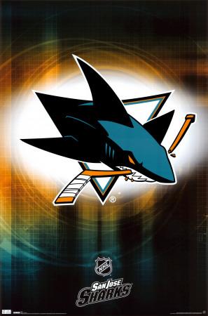 Sharks - Logo 2010 Plakat