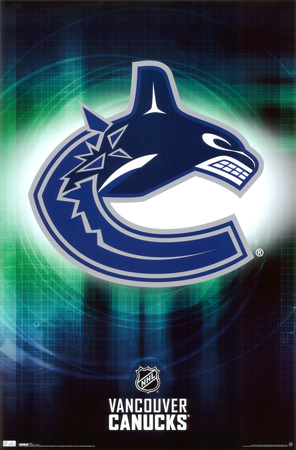 Canucks - Logo 2010 Plakat