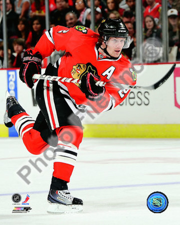 Duncan Keith 2010-11 Action Photo