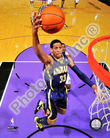 Danny Granger 2010-11 Action Photo