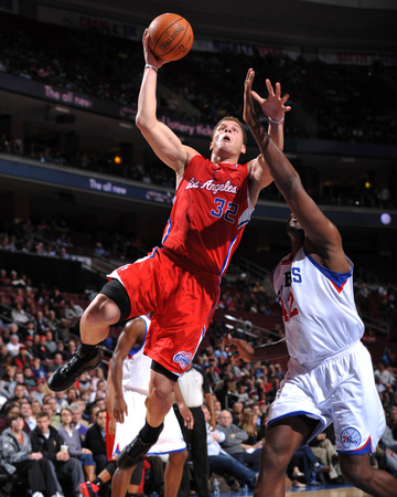 Los Angeles Clippers v Philadelphia 76ers: Blake Griffin and Elton Brand Photo by Jesse D. Garrabrant