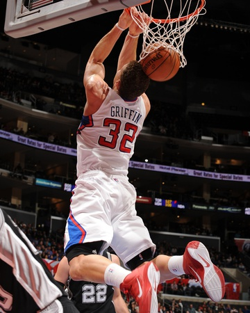 San Antonio Spurs v Los Angeles Clippers: Blake Griffin Photo by Noah Graham