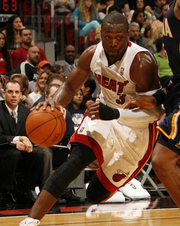 Indiana Pacers v Miami Heat: Dwyane Wade Photo by Issac Baldizon