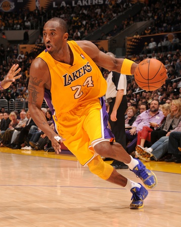 Sacramento Kings v Los Angeles Lakers: Kobe Bryant Photographic Print