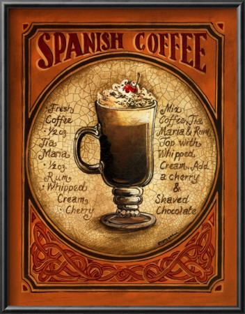 Spanish Coffee Posters by Gregory Gorham