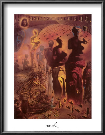 The Hallucinogenic Toreador, c.1970 Lamina Framed Art Print