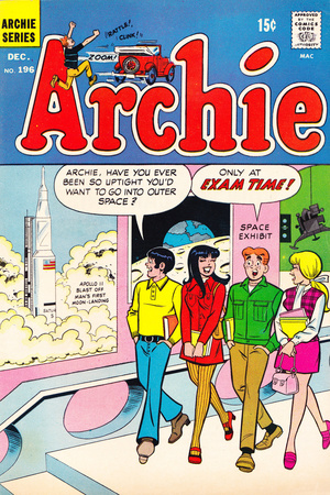 Archie Comics Retro: Archie Comic Book Cover No.196 (Aged) Posters