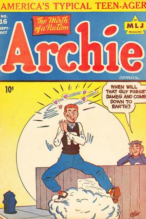 Archie Comics Retro: Archie Comic Book Cover No.16 (Aged) Poster by Bill Vigoda