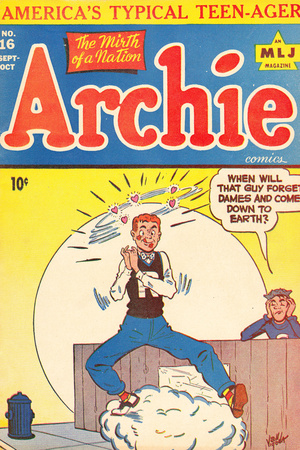 Archie Comics Retro: Archie Comic Book Cover #16 (Aged) Lámina