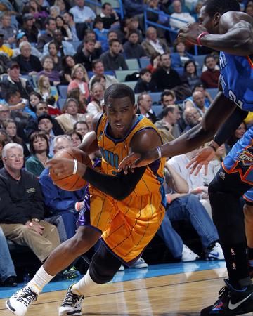 Oklahoma City Thunder v New Orleans Hornets: Chris Paul and Kevin Durant Photo by Layne Murdoch