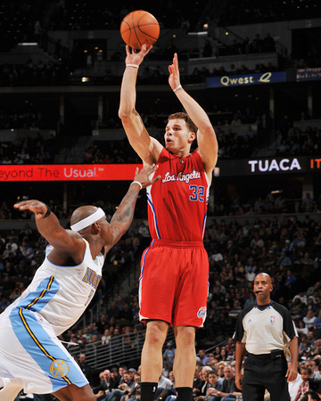 blake griffin los angeles clippers. Los Angeles Clippers v Denver