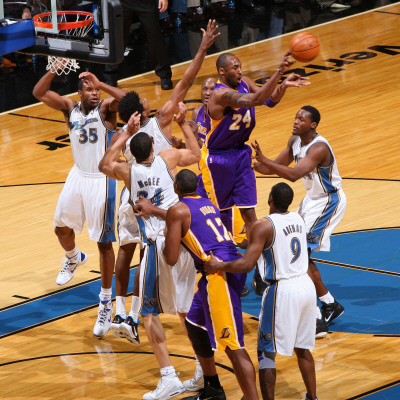 kobe bryant young. Los Angeles Lakers v Washington Wizards: Kobe Bryant, Nick Young and JaVale