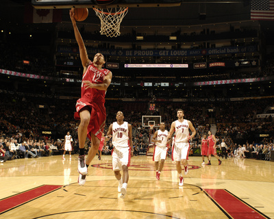 Houston Rockets v Toronto Raptors: Kevin Martin and DeMar DeRozan Photo by Ron Turenne