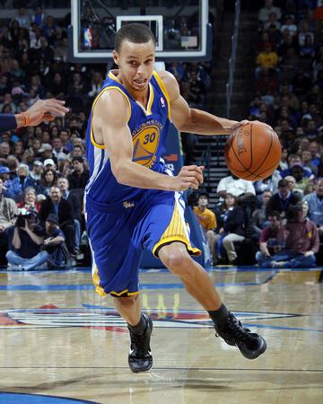 Golden State Warriors v Oklahoma City Thunder: Stephen Curry Photo by Layne Murdoch