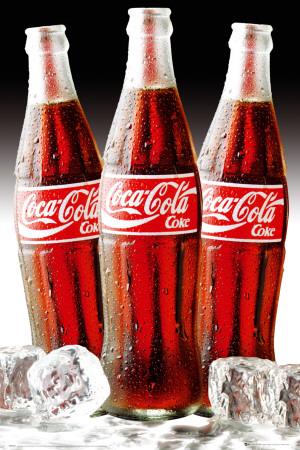 http://cache2.allpostersimages.com/p/LRG/52/5283/3M7IG00Z/posters/coca-cola-bottles-ice.jpg