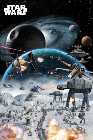 STAR WARS - Battle Poster