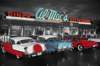 AL MACS DINER Pster