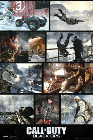 CALL OF DUTY BLACK OPS - Screenshots Affiche