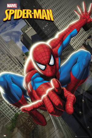 SPIDERMAN - Swinging Affiche