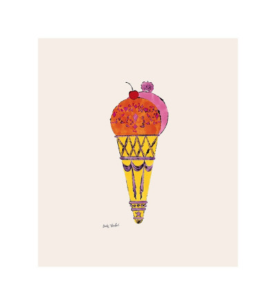 Ice Cream Dessert, c.1959 (Red and Pink) Giclee Print by Andy Warhol